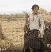 Sam Heughan Jamie Season One