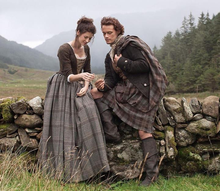 Official First Jamie and Claire