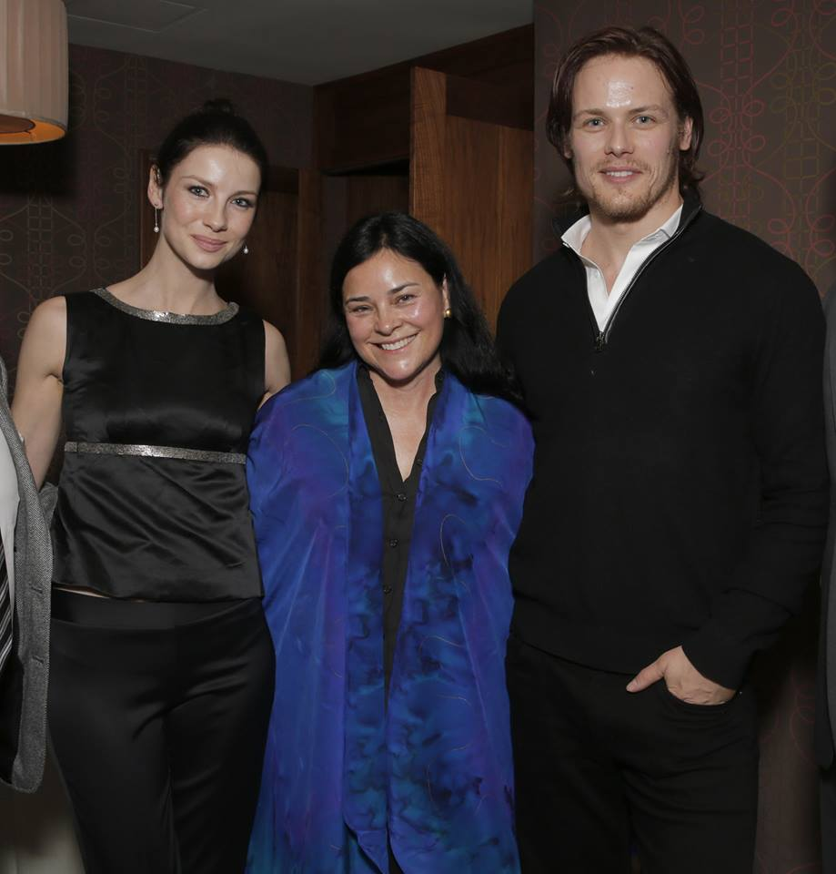 Diana Meets Sam and Cait