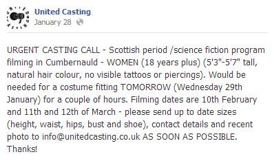 Casting Call 2