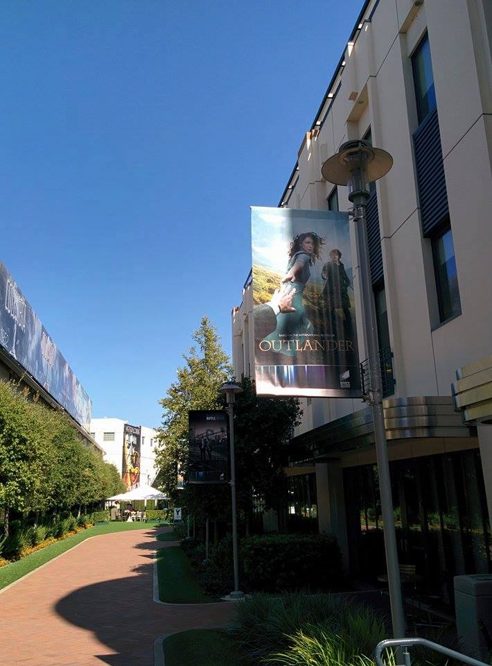 Outlander banner Sony lot