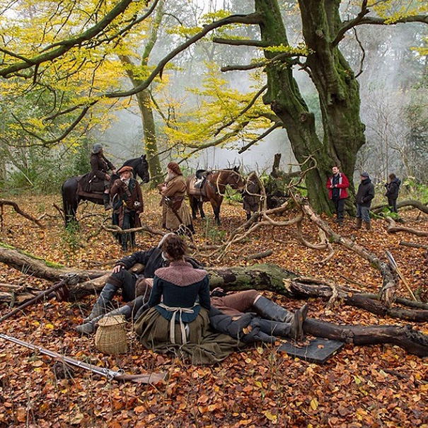 Boar Hunt Outlander BTS IG