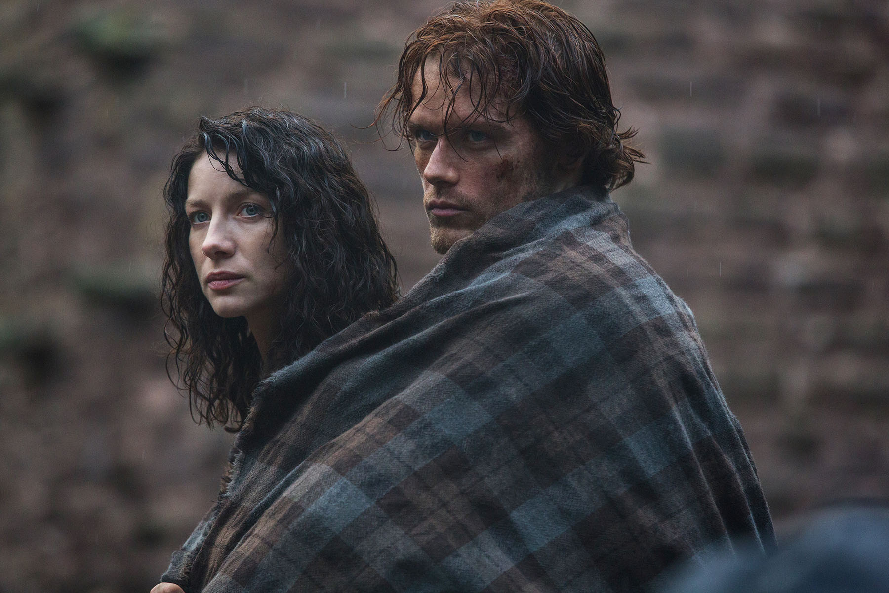 There is also another official photo in addition to the other two    Outlander Tv Series