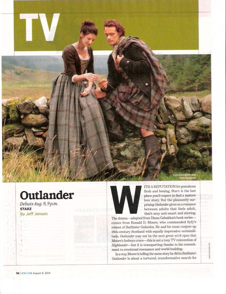 Outlander August EW