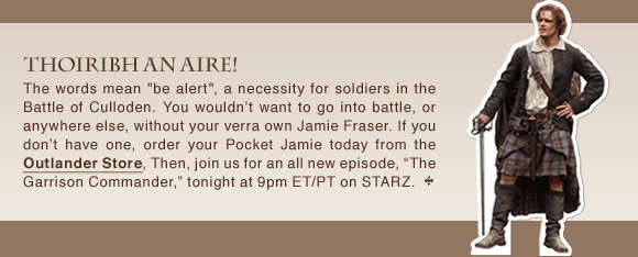 Outlander Newsletter Jacobite