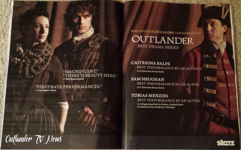 Outlander Golden Globe THR