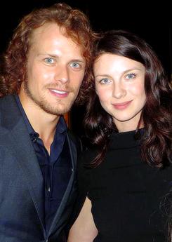 Sam and Caitriona