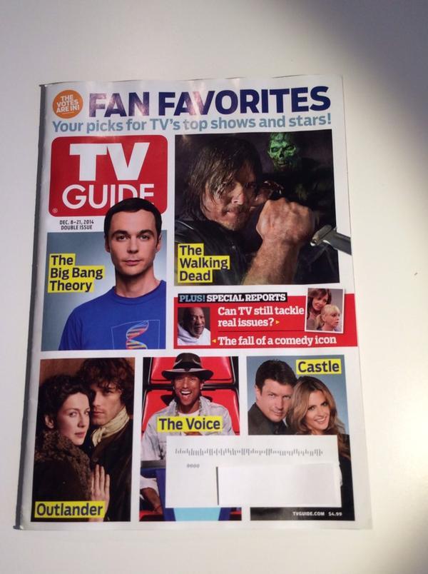 TV Guide Fan Favorite Cover