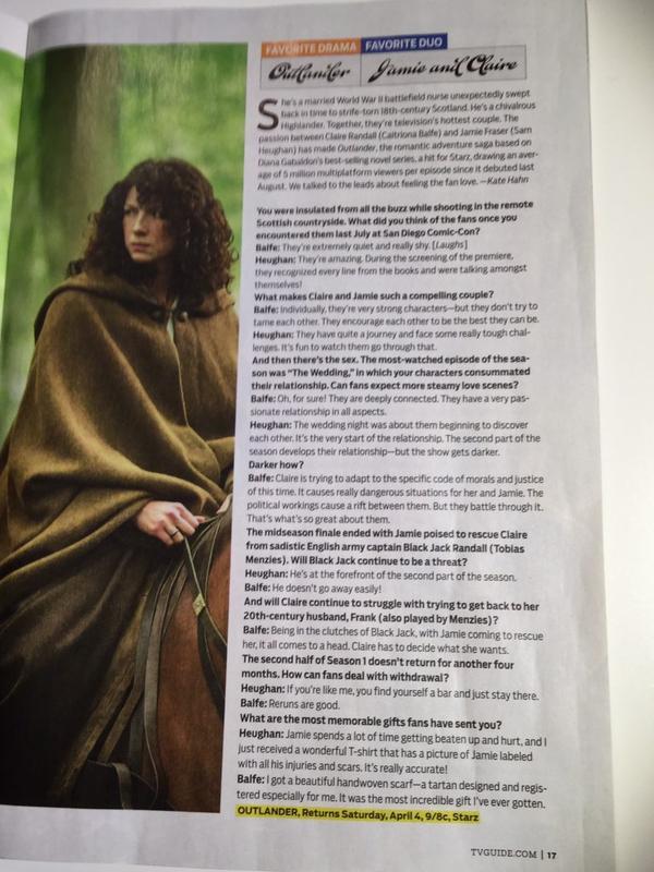 TV Guide Fan Favorite Interview