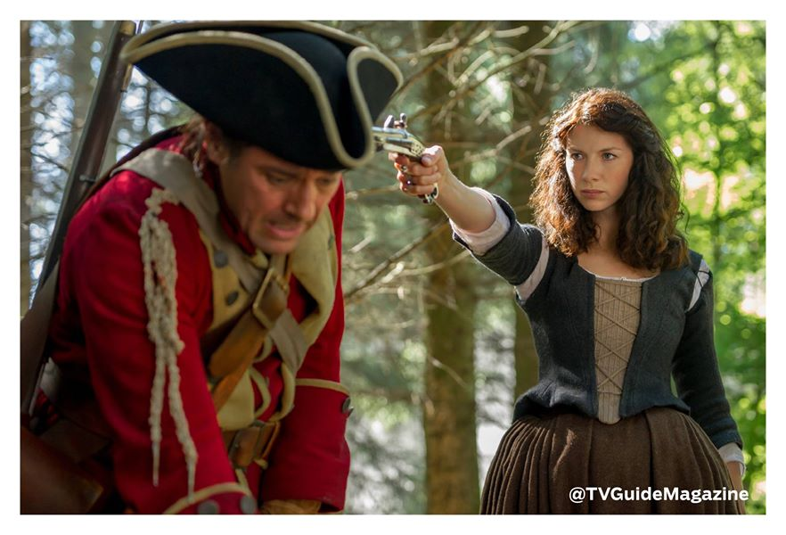 Claire Official Photo Caitriona Balfe Season One Part 2