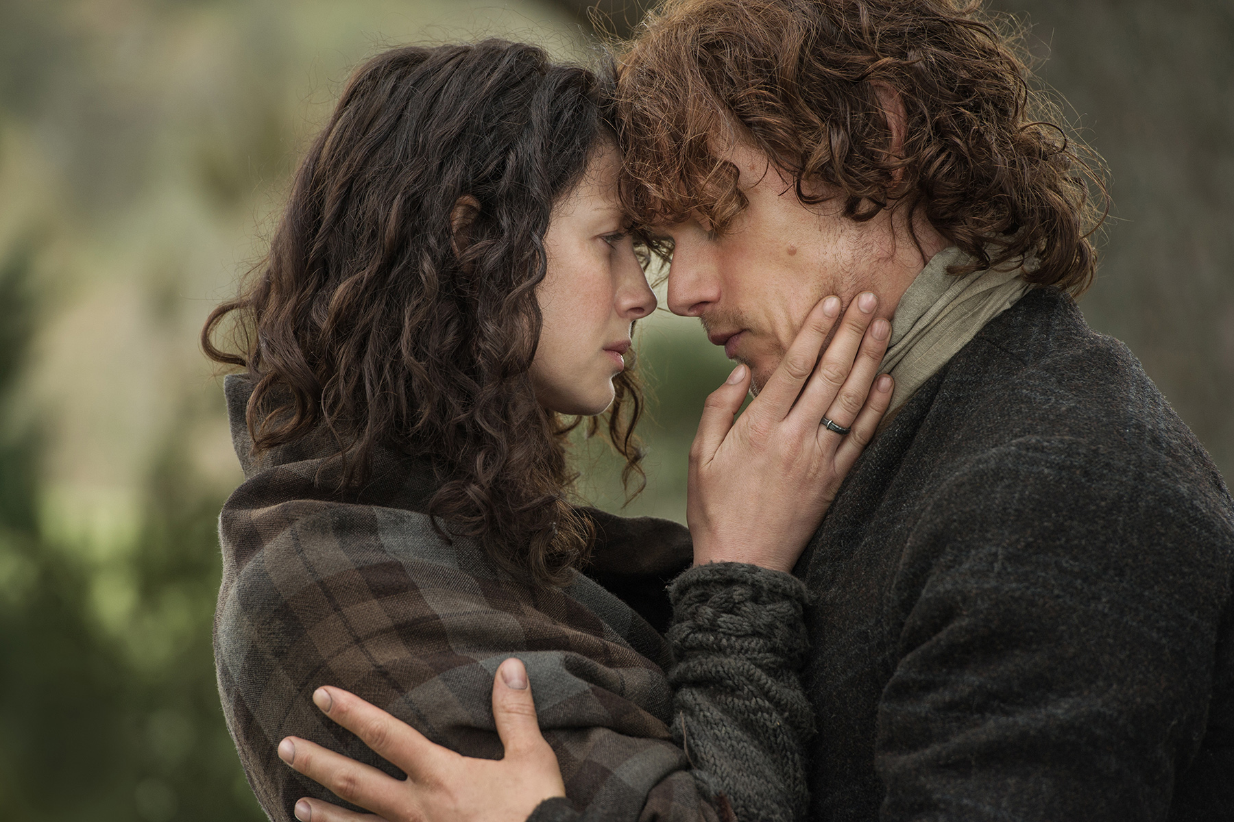 Image result for outlander jamie and claire