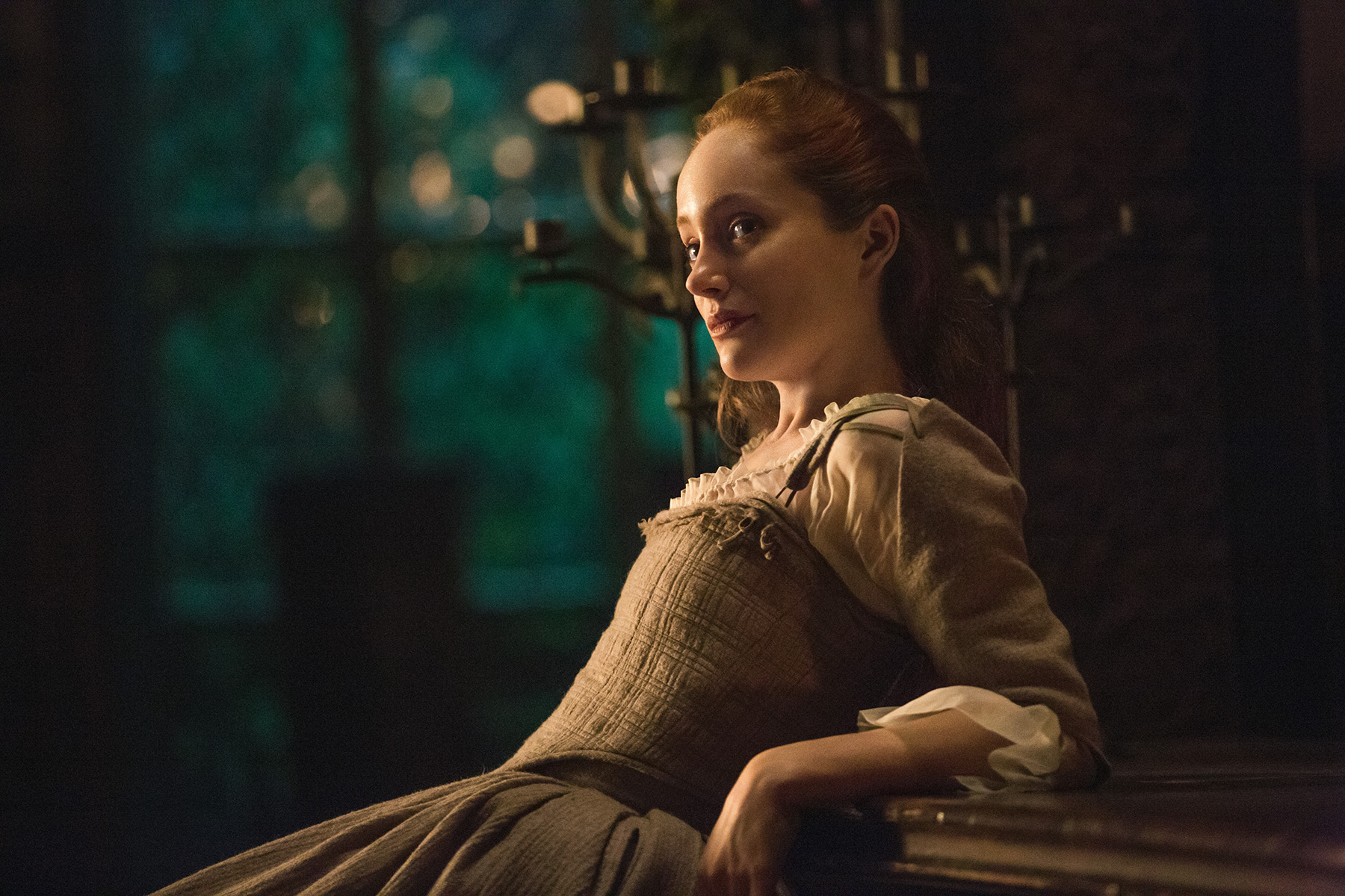 image Caitriona balfe and lotte verbeek nude outlander s01e10