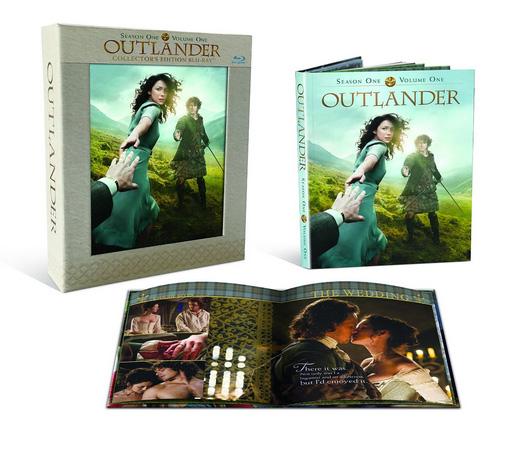 Outlander Season 1 Vol 1 Blu-Ray