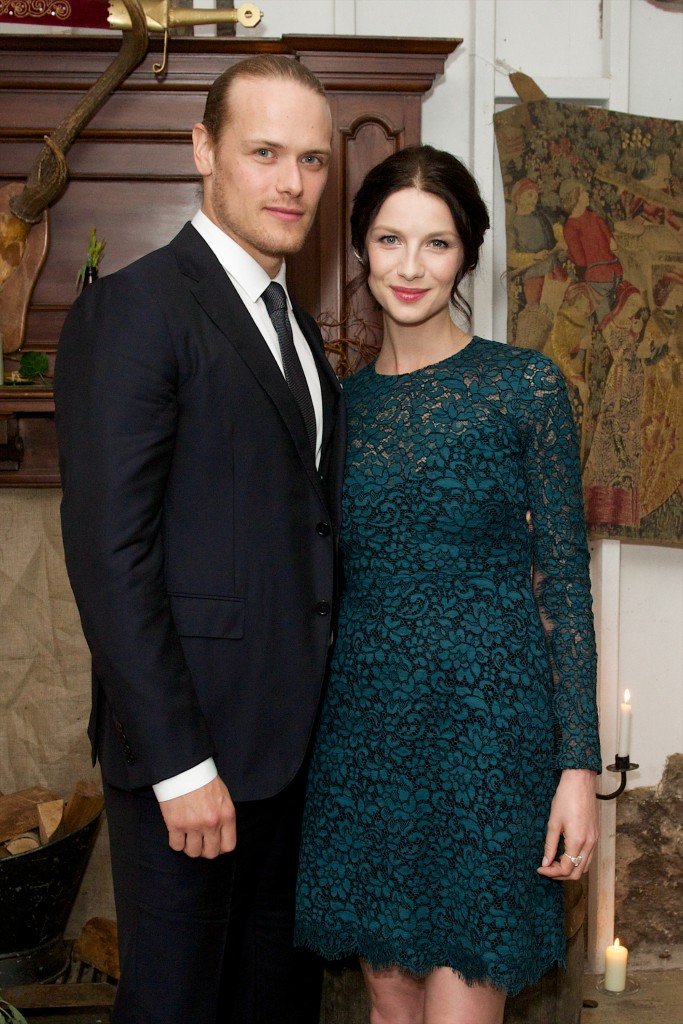 at the Amazon Prime London Premiere of Outlander