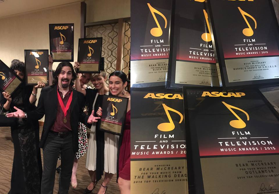 Bear McCreary ASCAP Awards