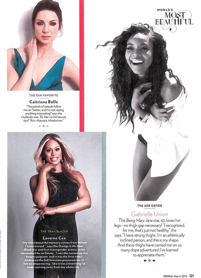 Caitriona Balfe People Magazine