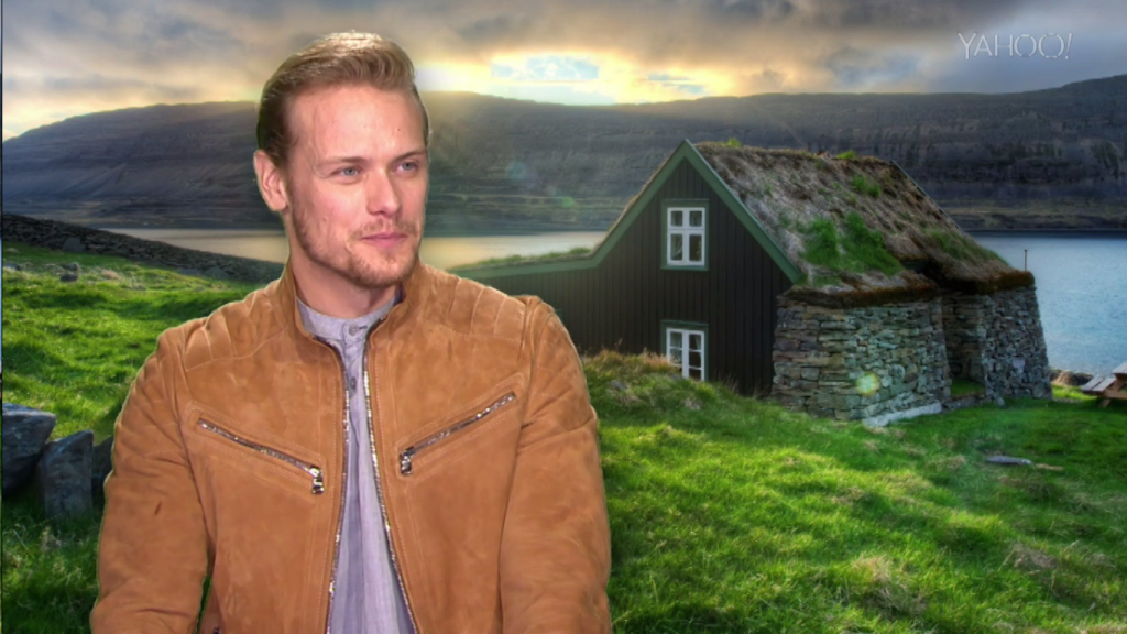Sam Heughan Yahoo Interview