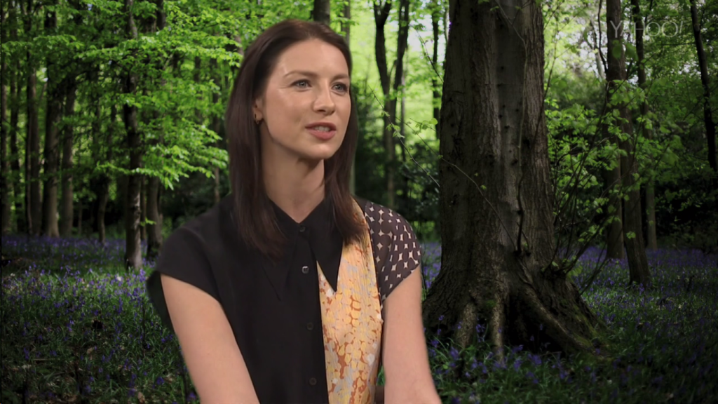 Caitriona Balfe Interview Yahoo