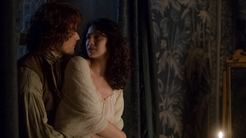 Sam Caitriona Season 1B Claire Jamie Official Episode 112