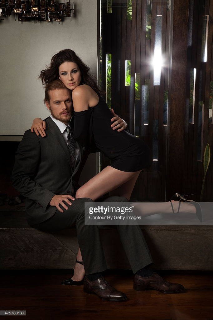 Emmy Magazine Caitriona and Sam