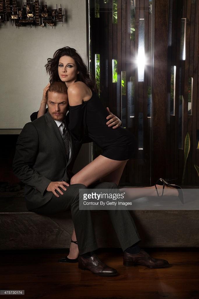 Emmy Magazine Caitriona and Sam
