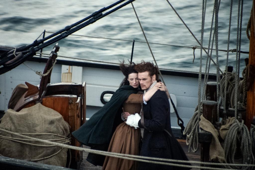 Episode 116 - Claire Randall (Caitriona Balfe), Jamie Fraser (Sam Heughan)