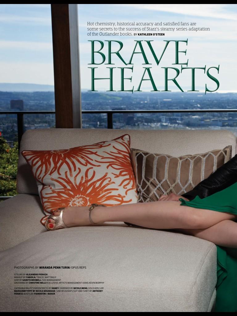 Emmy Magazine Sam Caitriona