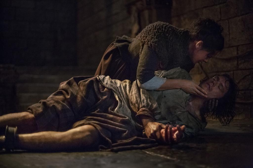 Official Episode 115 Claire Caitriona Sam Jamie
