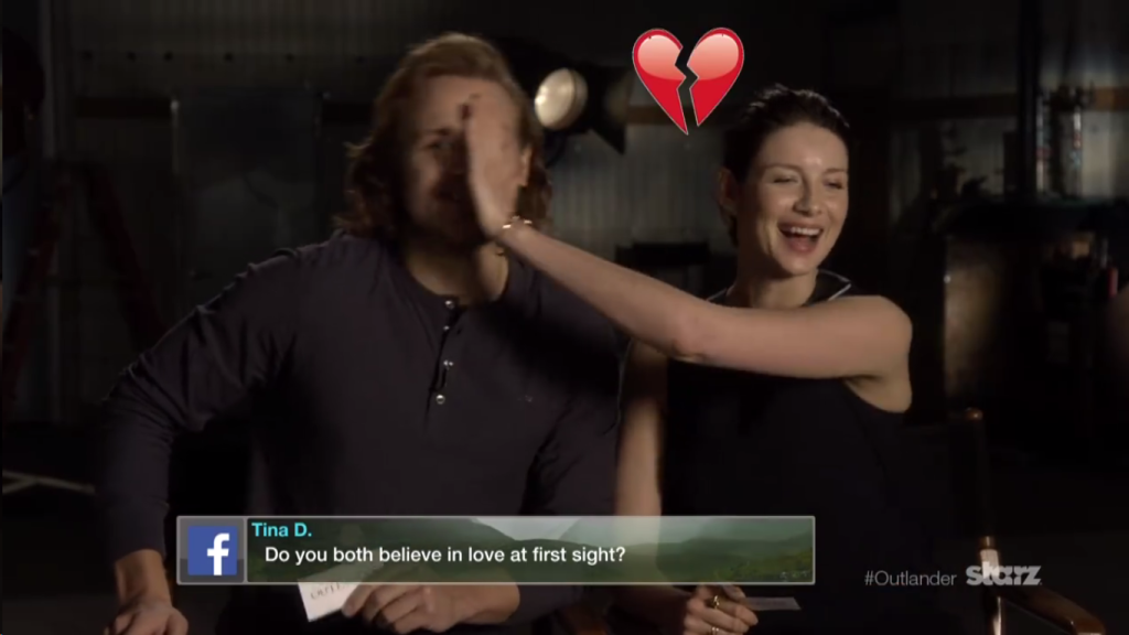 Sam Caitriona Answer Fan Questions
