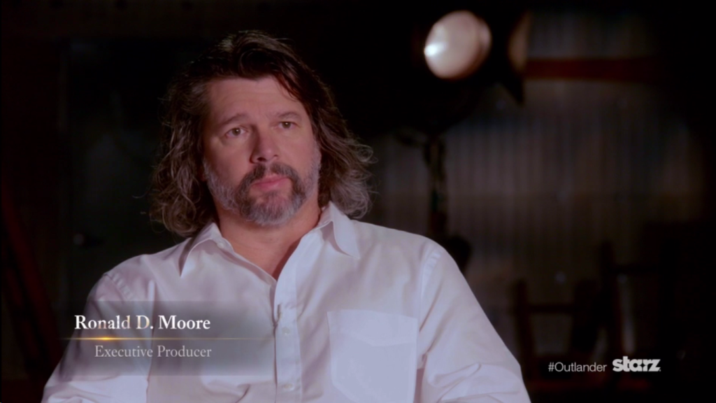 Ronald D. Moore Episode 115 BTS Video