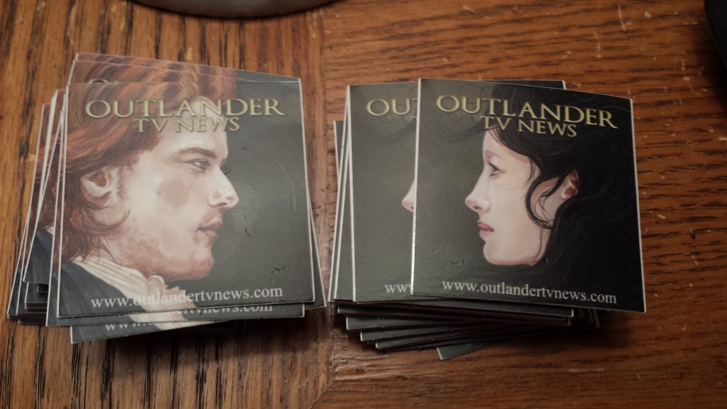 Outlander TV News Stickers