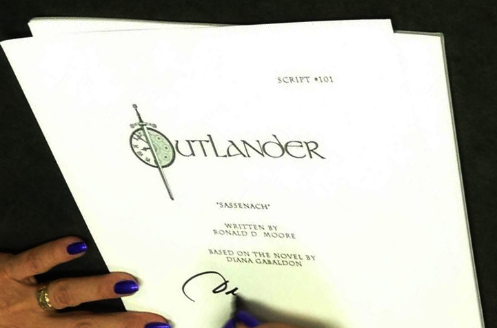 Diana Gabaldon Script