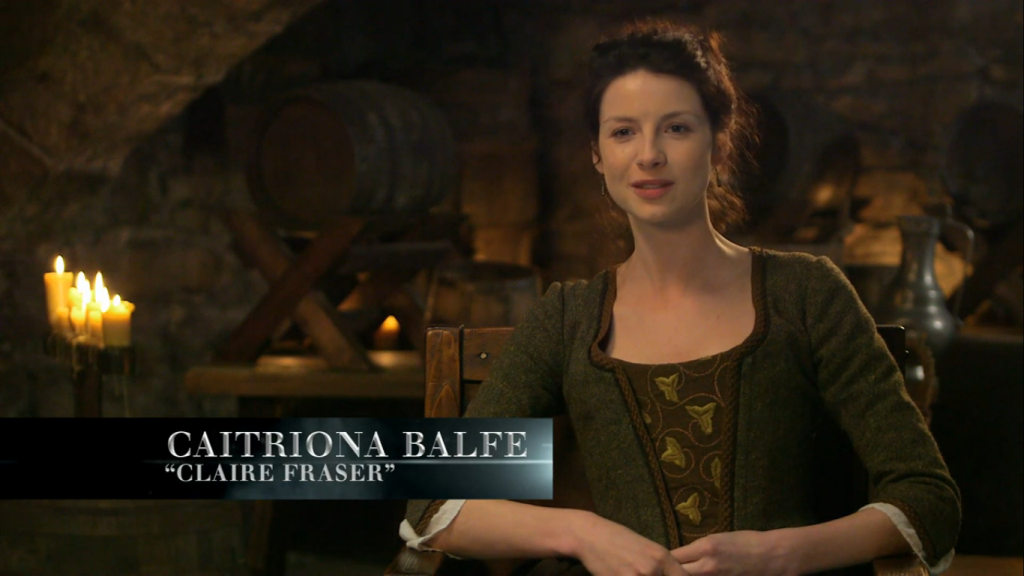 Caitriona DVD Interview