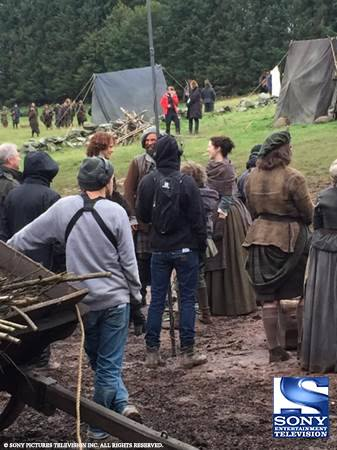 BTS Season Two Caitriona Sam Duncan