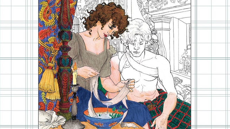Outlandish Companion Volume Two And Outlander Coloring Book Out Now
