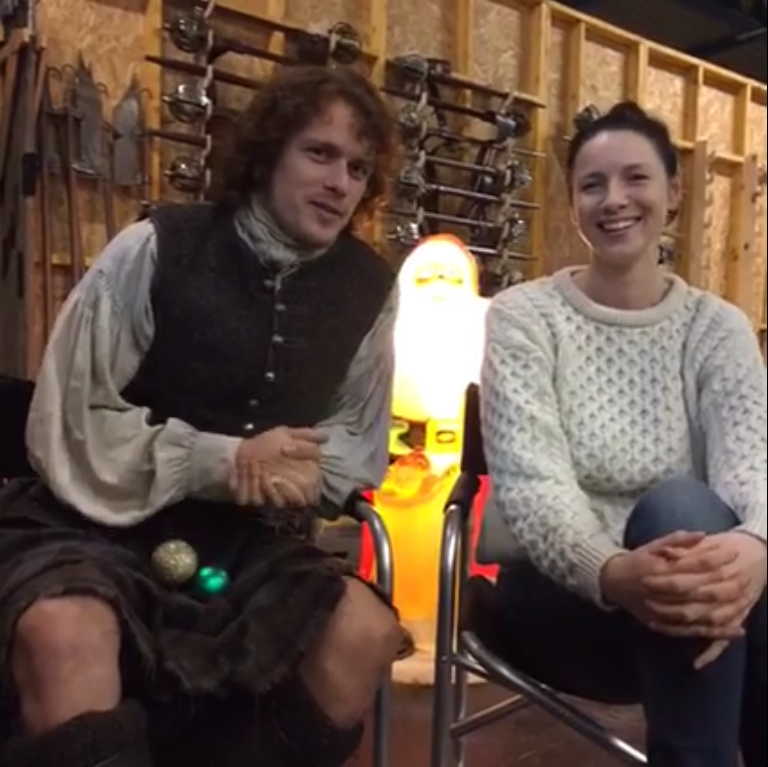 Facebook Live Chat Sam Caitriona