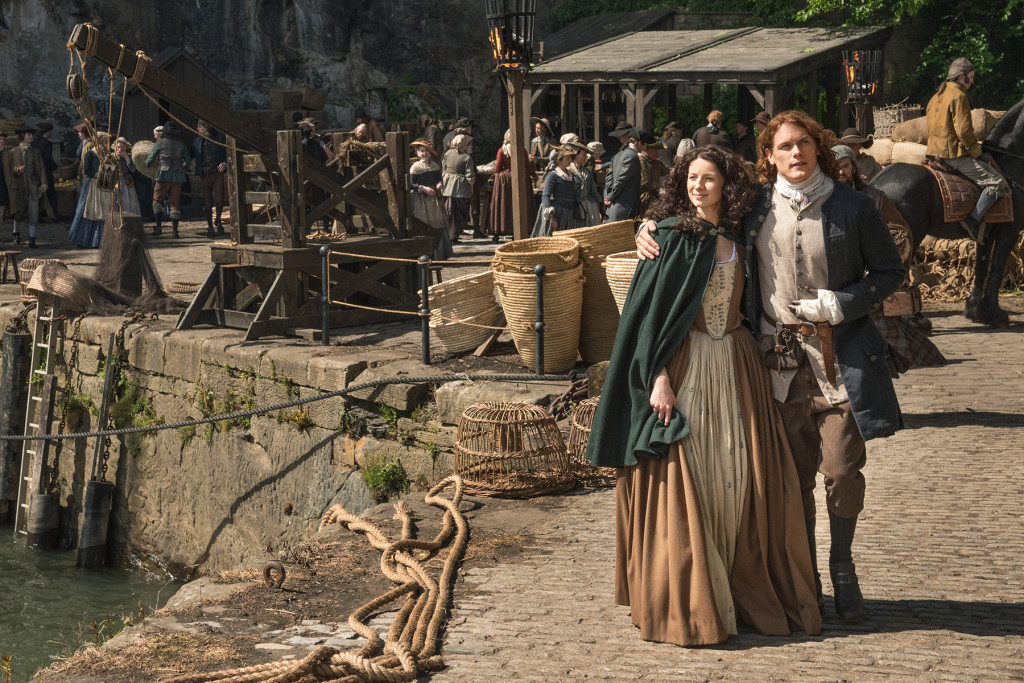 Official S2 Caitriona Claire Sam Jamie