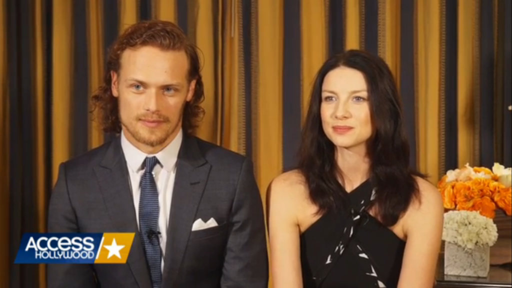Sam Caitriona Interviews TCA