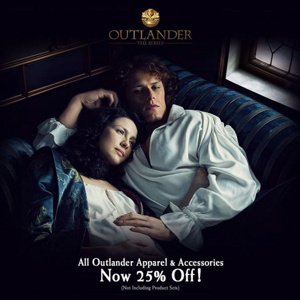 New 'Outlander' Season Two Photo of Claire and Jamie (Yes, Another One)