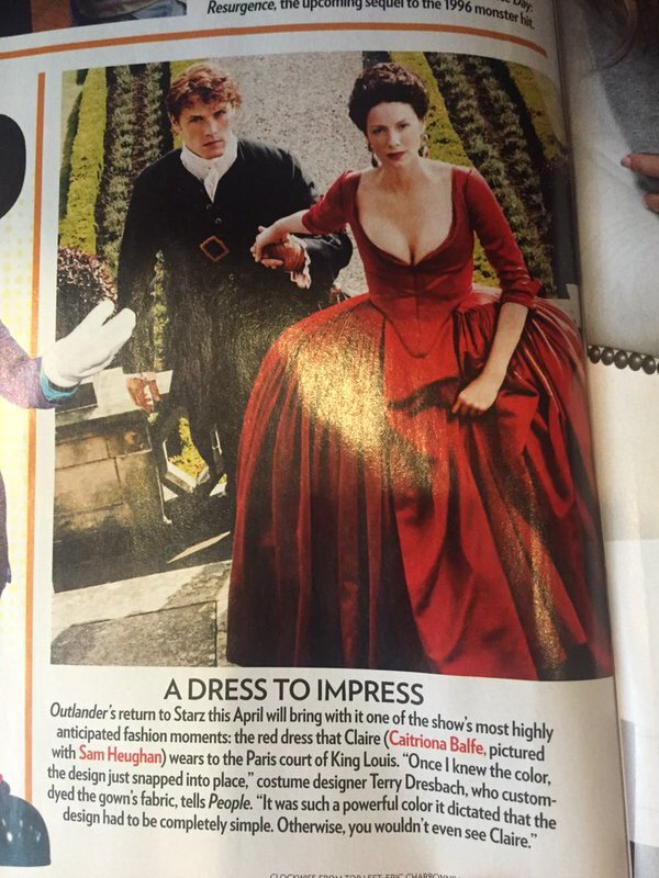 People Mag Claire Sam Red Dress