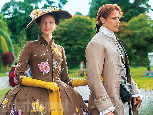 Sam-Heughan-and-Caitriona-Balfe