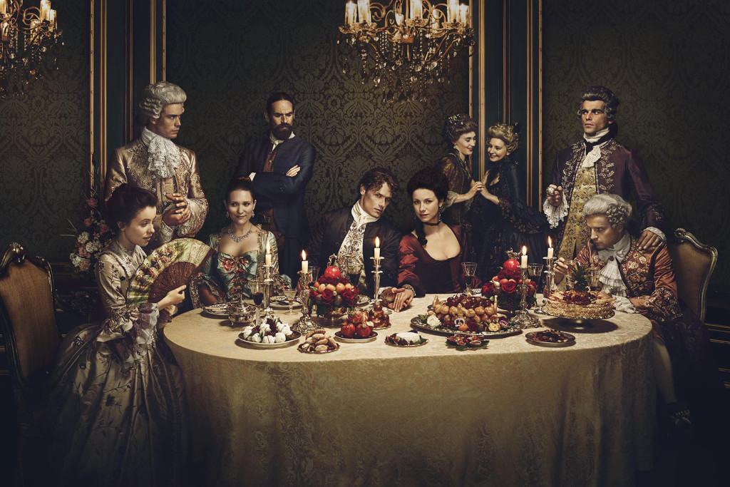 Outlander Season 2 Marketing Shoot Key Art