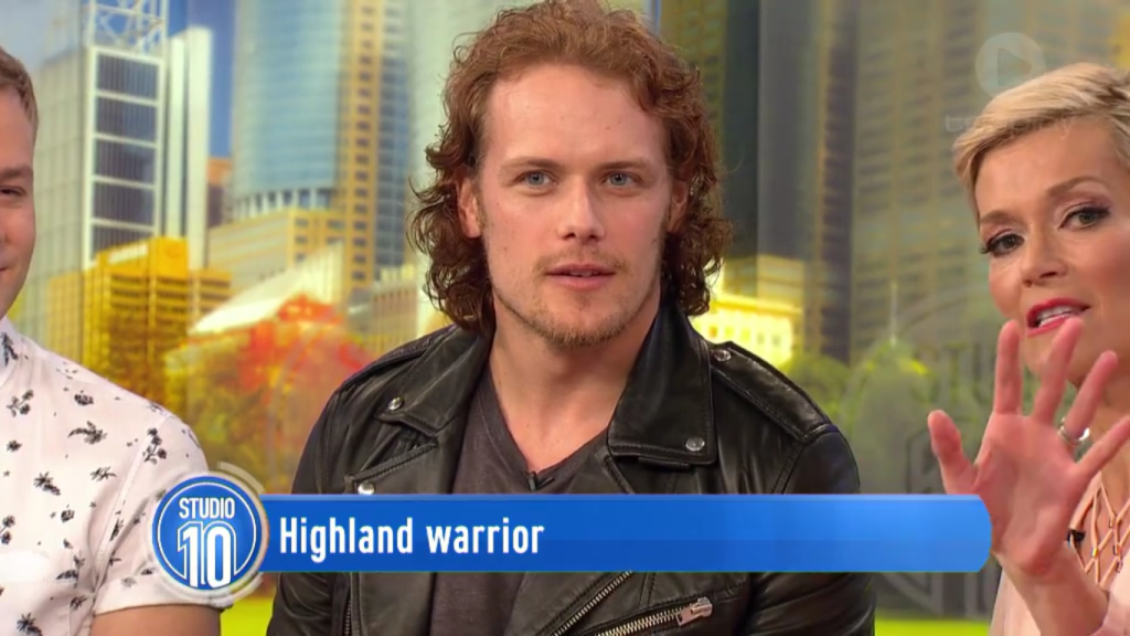 Sam Heughan Interview Studio 10