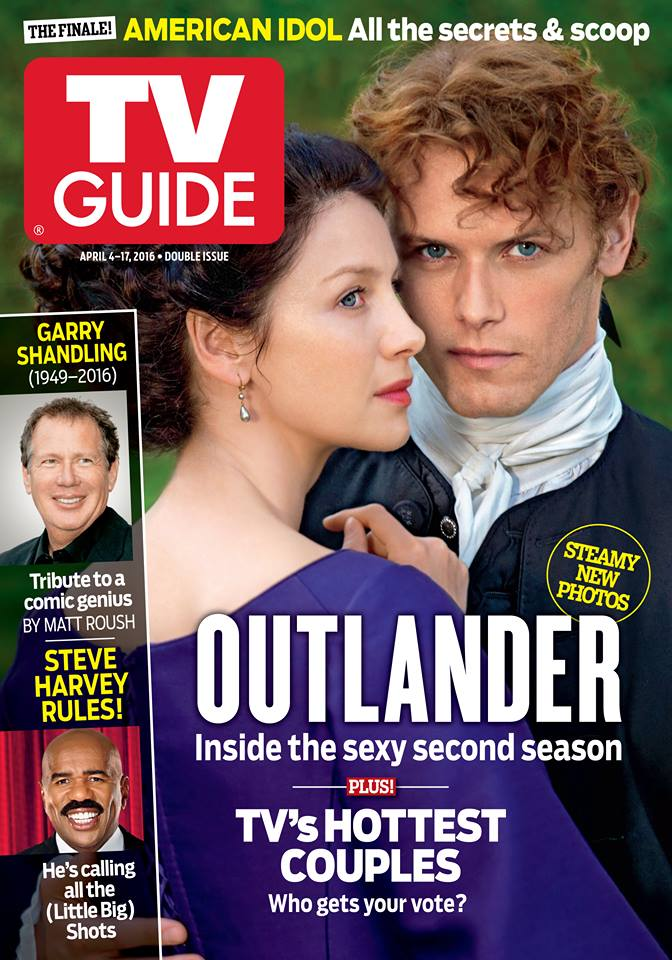 season 2 outlander tv guide cover outlander tv news rh outlandertvnews com OK Magazine Cover This Week Golf Digest Cover This Week