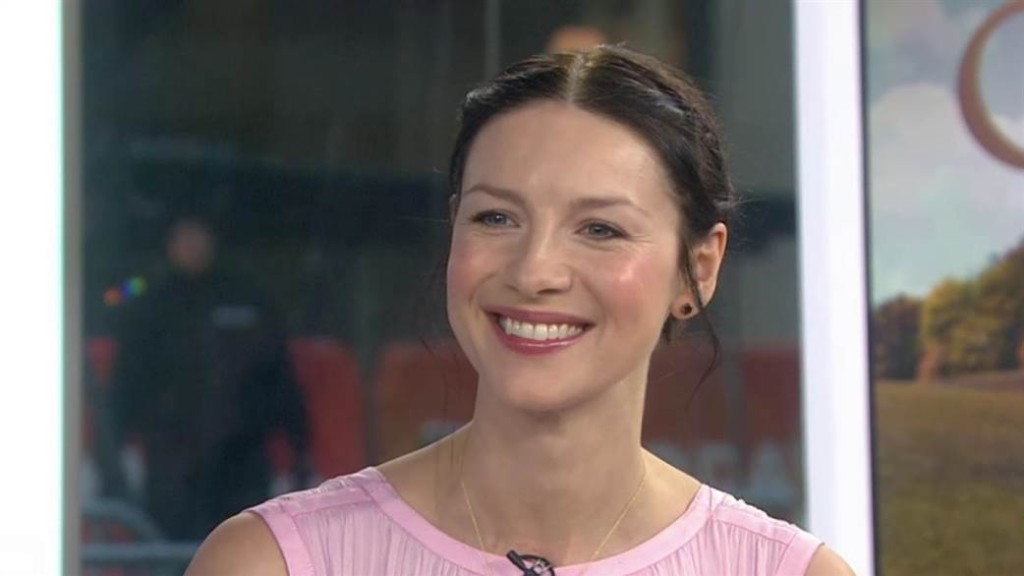 Caitriona Balfe Today Show