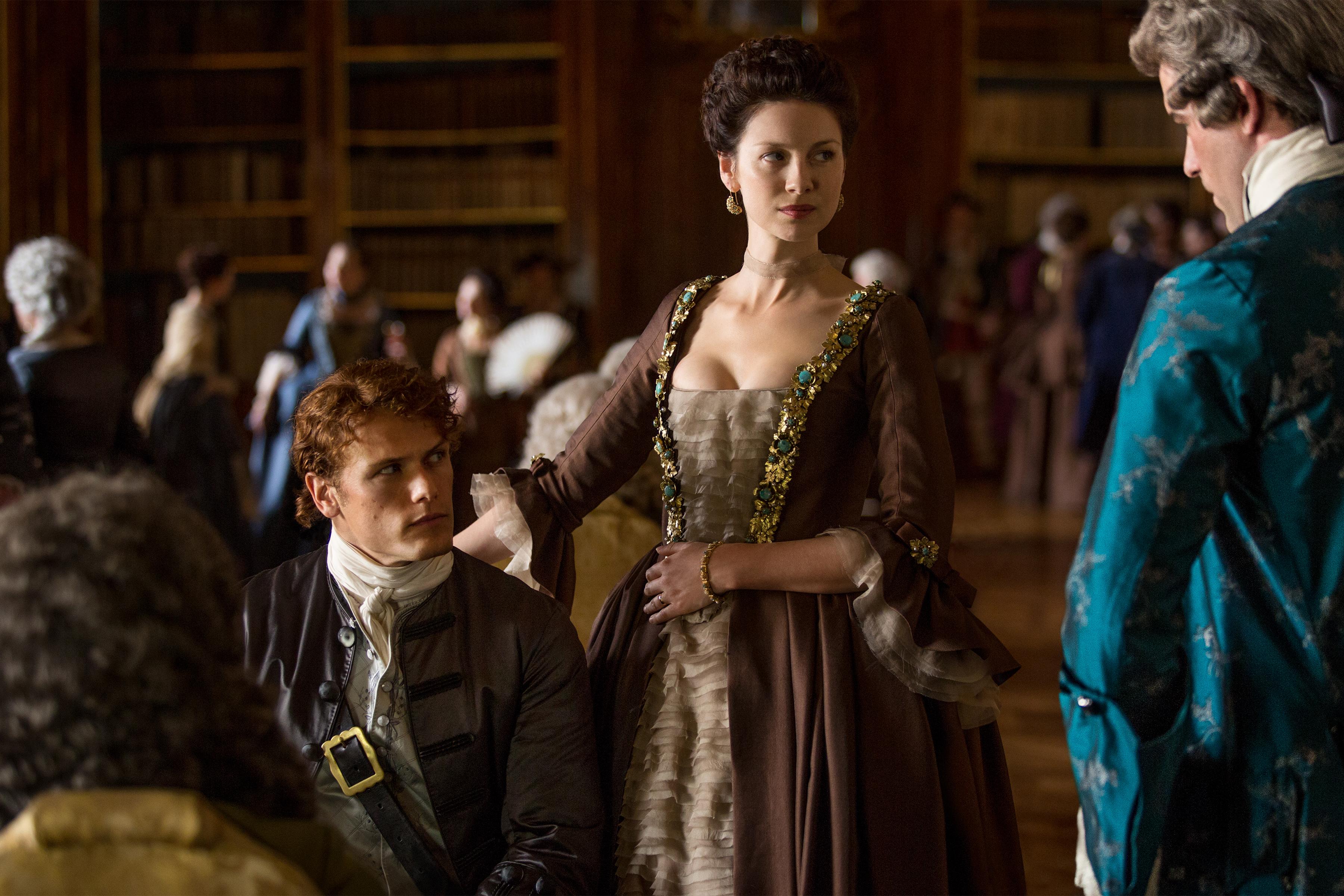 Official Photos From 39 Outlander 39 Episode 204 La Dame Blanche Outlander Tv News