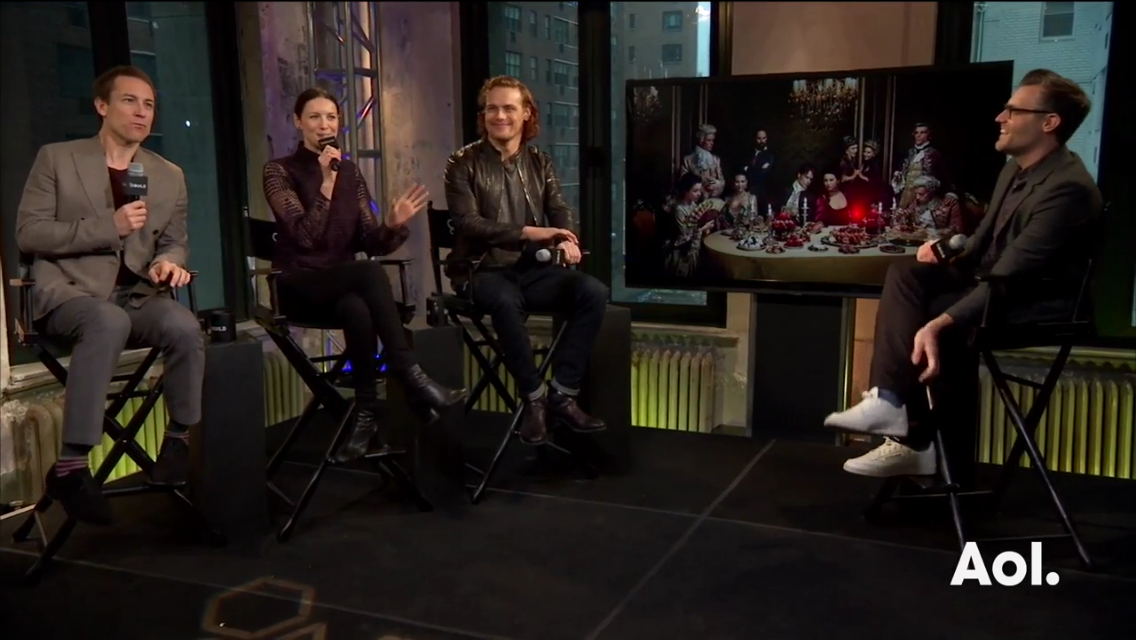 Outlander Cast: AOL Build Interview | Outlander TV News