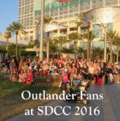 OUtlander Fans SDCC
