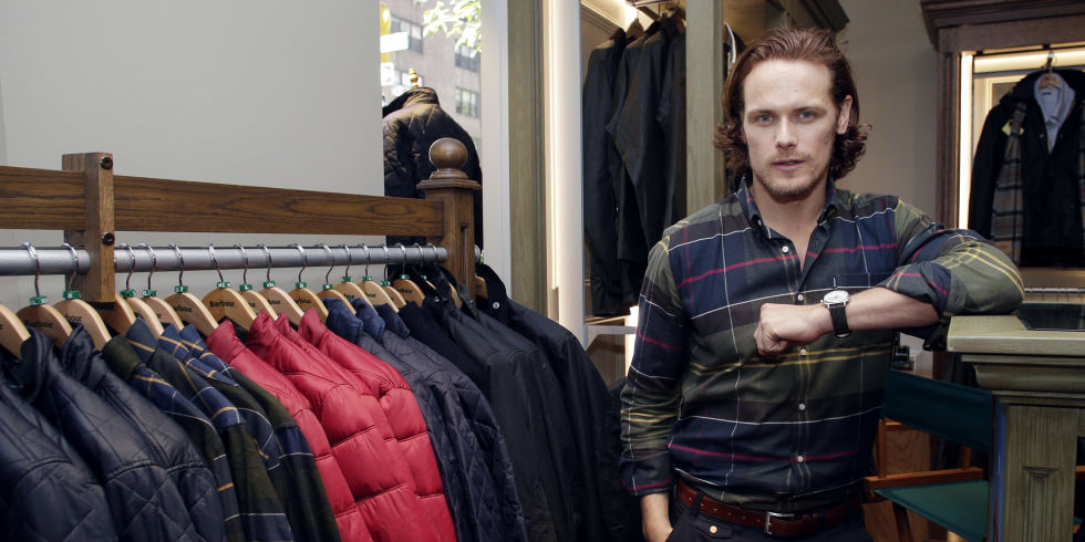 Sam Heughan Barbour