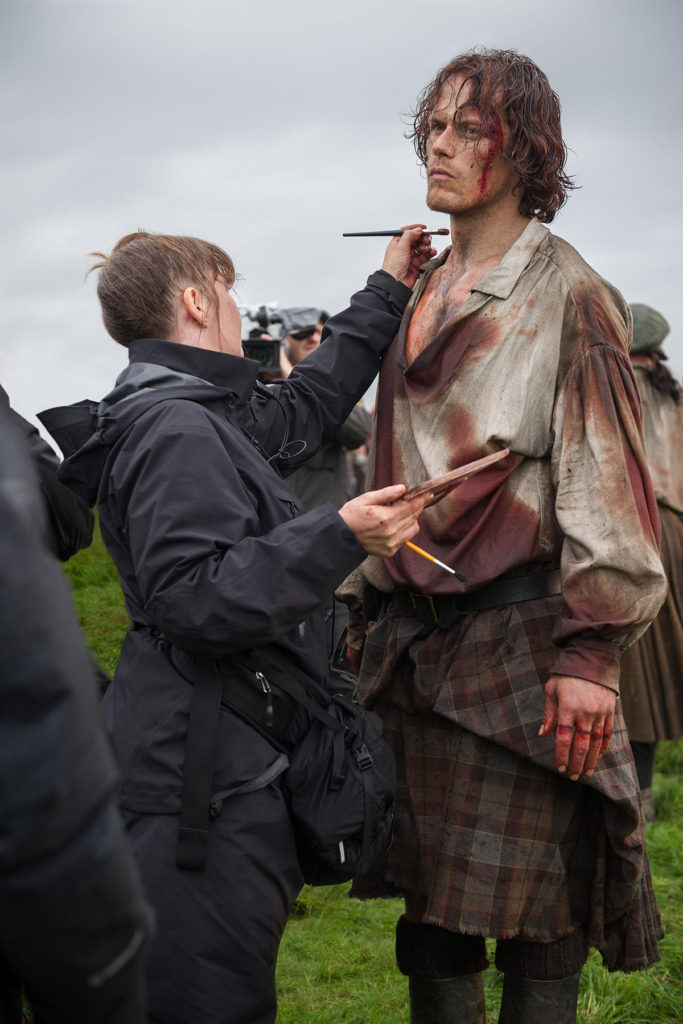 Sam Heughan Official BTS S3